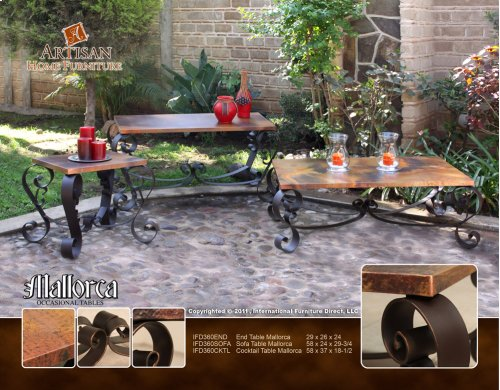 HOT BUY CLEARANCE!!! Cocktail Table Mallorca