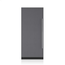 "36"" Designer Column Refrigerator with Internal Dispenser - Panel Ready"