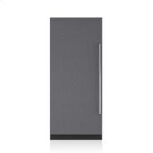 "36"" Designer Column Refrigerator with Internal Dispenser - Panel Ready"