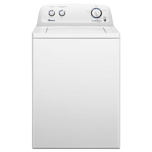 3.6 cu. ft. Top Load Washer with Load Size Options - white