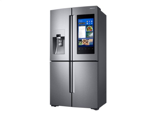 22 cu. ft. Capacity Counter Depth 4-Door Flex Refrigerator with Family Hub (2017)