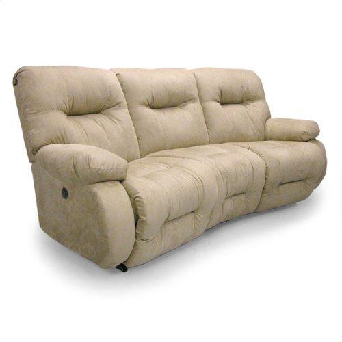 BRINLEY COLL. Space Saver Reclining Sofa