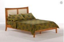 Chameleon Platform Bed Queen Cherry