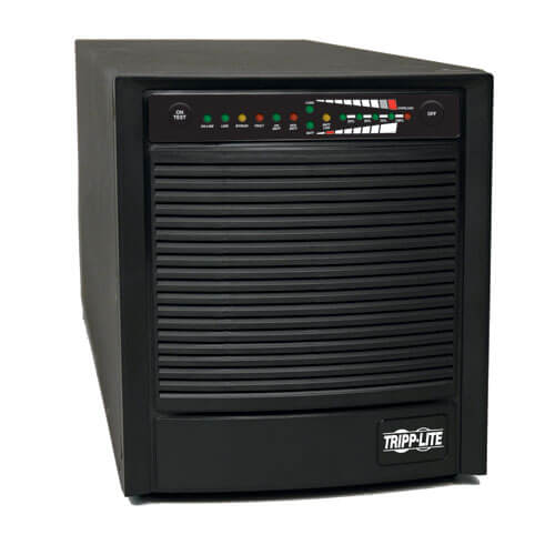 SmartOnline 120V 1.5kVA 1.2kW Double-Conversion UPS, Tower, Extended Run, Network Card Options, USB, DB9 Serial