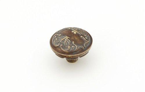 Solid Brass, Symphony, Cantata, Round Knob, Monticello Brass, 1-1/4