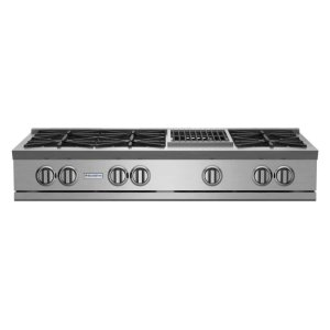 "Bluestar48"" RNB Rangetop with 12"" Charbroiler"