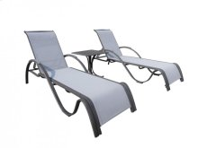 Newport Beach 3 PC Chaise Lounge Set