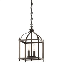 Larkin Collection Larkin 2 Light Foyer Chandelier - Olde Bronze
