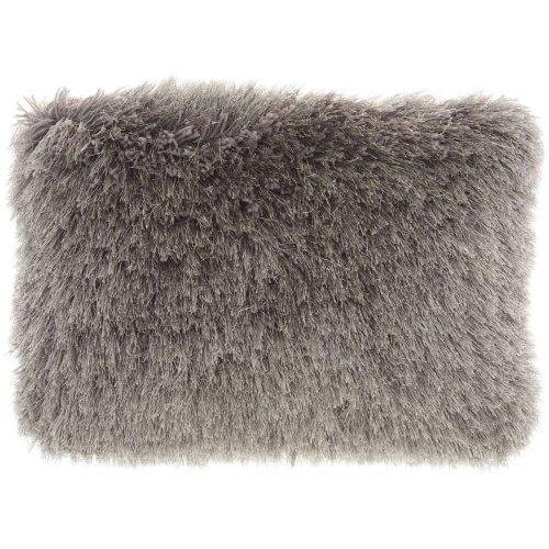 """Shag Tl004 Charcoal 14"""" X 20"""" Throw Pillows"""