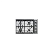 """WOLF 30"""" Gas Cooktop - Classic Stainless (CT30GS) - FLOOR MODEL"""
