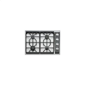 """Floor Model Obsolete 30"""" Gas Cooktop (CT30G) - Classic Stainless (Open Box / Full Factory Warranty / All Sales Final) LIN"""