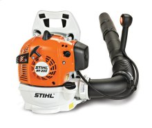A lightweight, professional-caliber backpack blower for use around the home.