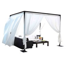 Milano Outdoor Cabana 11 ft. x 9 ft. Cabana