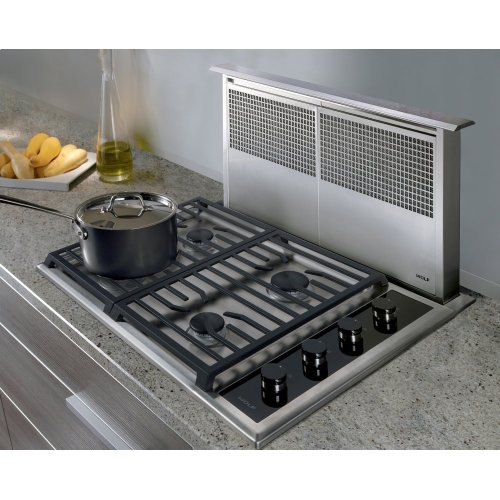 30 Transitional Gas Cooktop 4 Burners