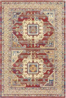 Cordoba Crd01 Brick Rectangle Rug 5'3'' X 7'3''
