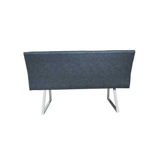 Contemporary Grey Right Side Facing Corner Bench