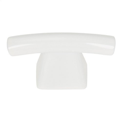 Fulcrum Knob 1 1/2 Inch - High White Gloss