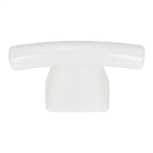 Fulcrum Knob 1 1/2 Inch - High White Gloss