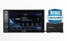 In-Dash DVD/GPS Navigation Receiver With SiriusXM Tuner