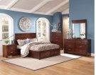 5 Piece Bedroom - 3PC Bed, Dresser, Mirror Product Image