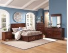 5 Piece Bedroom - 3PC Bed, Dresser, Mirror Product Image
