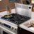 """Additional Renaissance 46"""" Round Cap Downdraft, in Stainless Steel"""