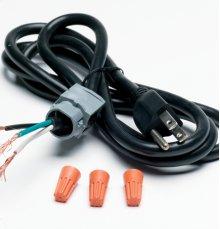 Universal dishwasher power cord (3W / 5' 4 / 13A)