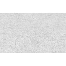 Shaggy rug, White color