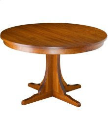 "Mission 54"" Round Extension Table"
