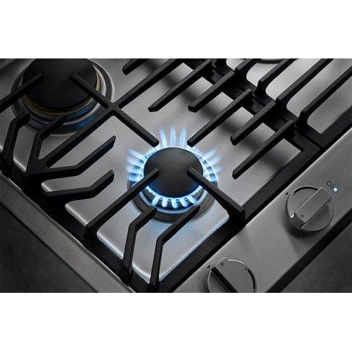 "Heritage 36"" Professional Gas Cooktop, Liquid Propane/High Altitude"