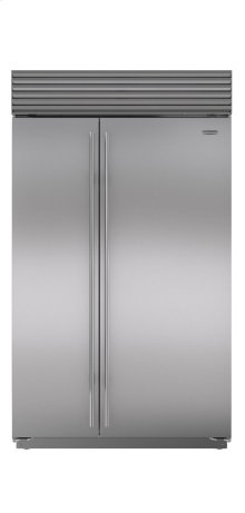 "48"" Built-In Side-by-Side Refrigerator/Freezer"