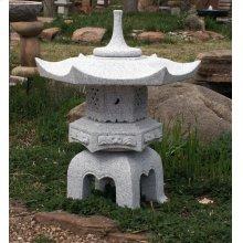 Japanese Lantern: Hexagonal Yukimi Lantern 24 Inch
