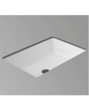 "White KARO II Undermount Lavatory 18"" x 12"""
