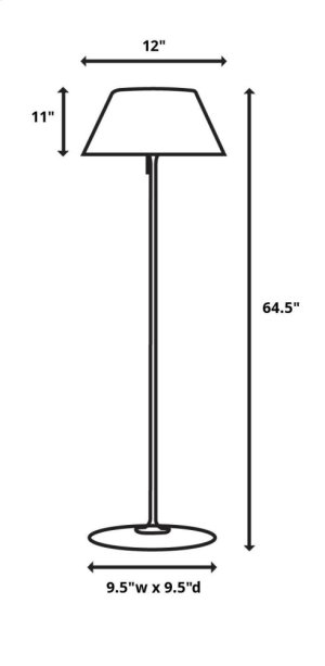 Myron Twist End Table Lamp