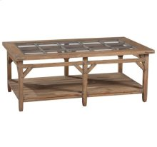 Sutton's Bay Primitive Rectangular Coffee Table