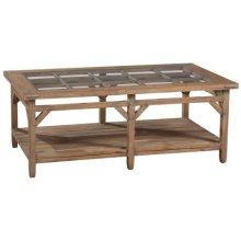 Sutton's Bay Primitive Rectangular Coffee Table