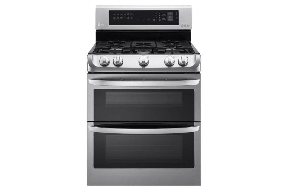 6.9 cu. ft. Gas Double Oven Range with ProBake Convection(R) and EasyClean(R)
