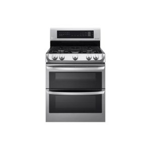 LG Appliances6.9 cu. ft. Gas Double Oven Range with ProBake Convection® and EasyClean®