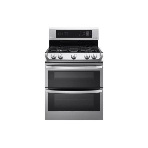 6 9 cu  ft  Gas Double Oven Range with ProBake Convection® and EasyClean®