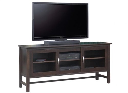 """Brooklyn 84"""" HDTV Cabinet With Hutch"""
