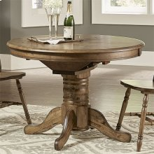 Oval Pedestal Table Base