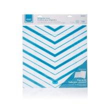 Smart Choice Blue Chevron Trim-to-Fit Refrigerator Liner, 2 Pack