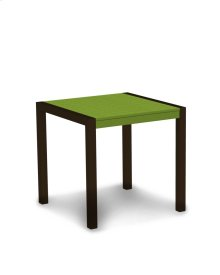 "Textured Bronze & Lime MOD 30"" Dining Table"