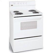 Crosley Electric Ranges (4.2 Cu. Ft. Manuel-Clean Oven)