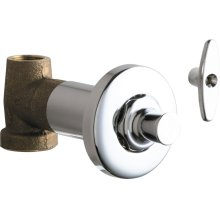 Concealed Straight Valve with Loose Key
