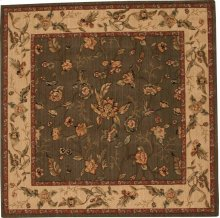 Hard To Find Sizes Grand Parterre Va01 Olive Square Rug 6' X 6'