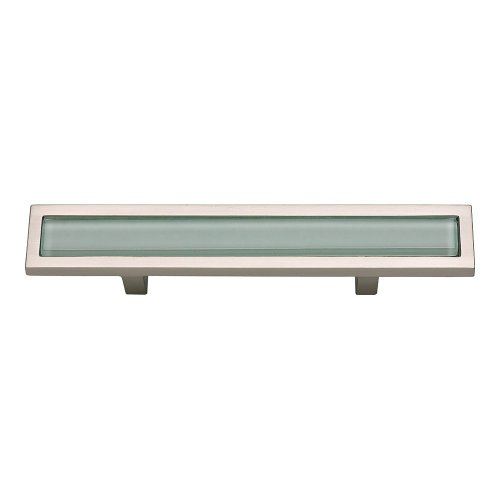 Spa Green Pull 3 Inch (c-c) - Brushed Nickel