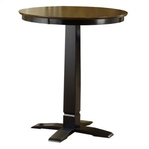 Hillsdale FurnitureDynamic Designs Pub Table Brown Cherry/black