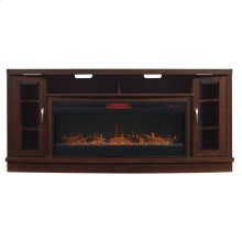 Hutchinson TV Stand with Electric Fireplace
