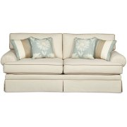 Craftmaster Living Room Stationary Sofas, Two Cushion Sofas Product Image